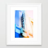 cinema Framed Art Prints featuring Cinema by Mark Mayr