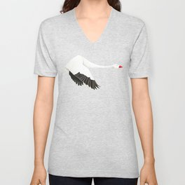 Snow Goose Unisex V-Neck