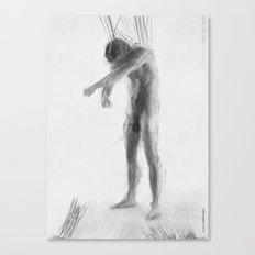 Standing Ludvik Canvas Print
