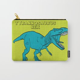 Dino Print T-Rex Carry-All Pouch