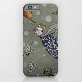 You can fly, Mary! iPhone Case