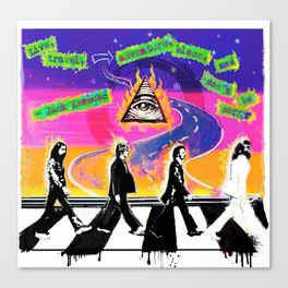 On the Abbey Road Canvas Print