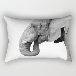 Majestic Elephant Rectangular Pillow