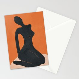 Abstract Nude II Stationery Cards