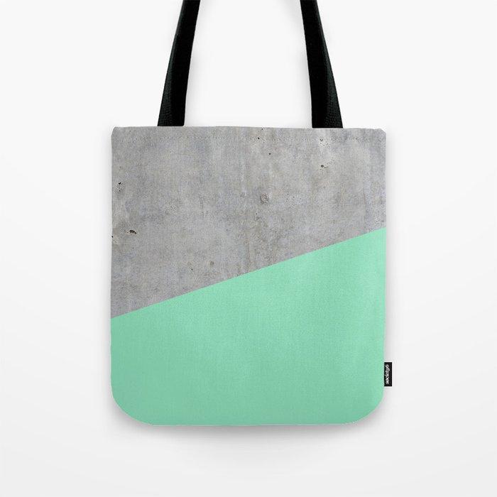 Concrete and sea Tote Bag