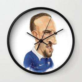 Franck Ribery - France Wall Clock