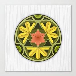 Mandala Autumn Canvas Print