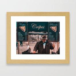 Master Crêpe Framed Art Print