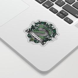 Slytherin Color Crest Sticker