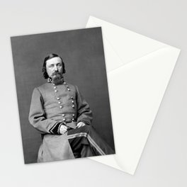 General George Pickett Portrait Stationery Cards