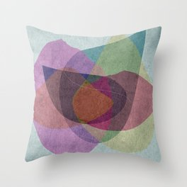 Pregnant Oyster III Throw Pillow