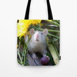 Floral Rat Tote Bag