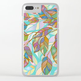 The magic of wilting Clear iPhone Case