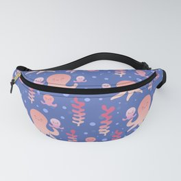 Baby Octopus   Pink Fanny Pack