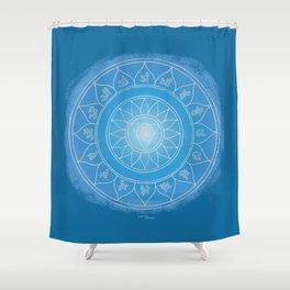 VISHUDDA Boho mandala Shower Curtain