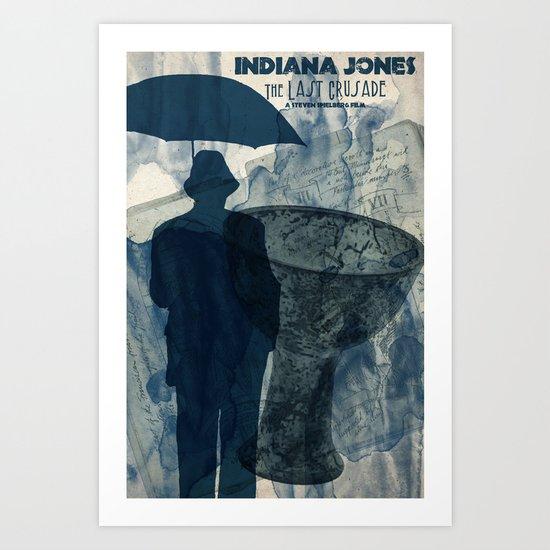 We named the dog Indiana... Art Print
