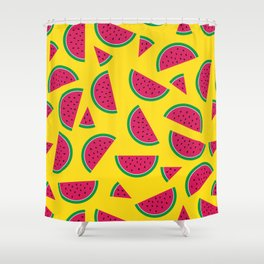 Tutti Fruiti - Watermelon Shower Curtain