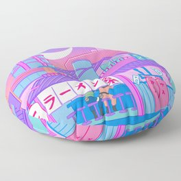 Ramen with Sensei Floor Pillow