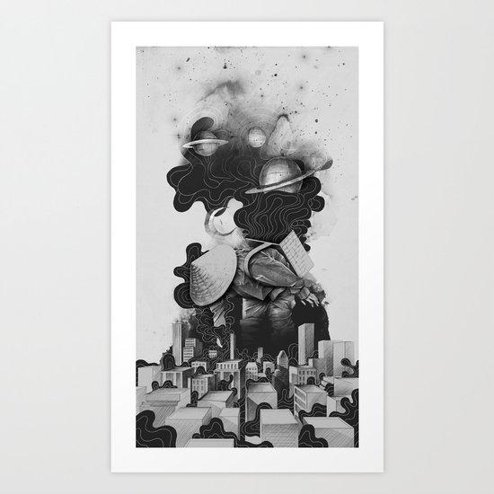 The Night Gatherer Art Print