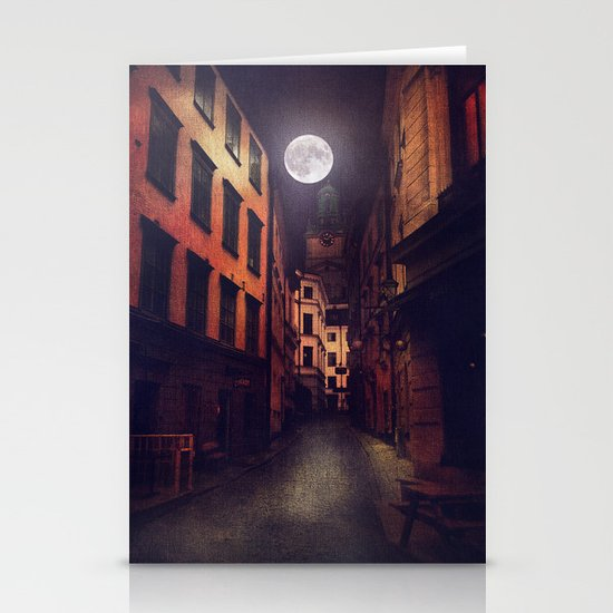 Gamla Stan, Stockholm. Stationery Cards