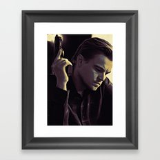 Someone from a half remembered dream Framed Art Print