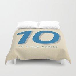 10 Il Divin Codino Duvet Cover