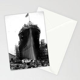 USS Arizona, Navy Yard, New York Stationery Cards