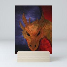 Dragon in the Misty Mountain Mini Art Print