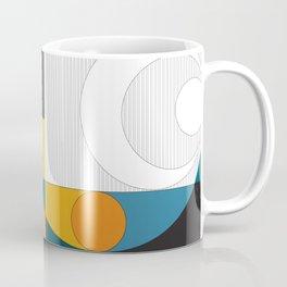 Abstract A Coffee Mug