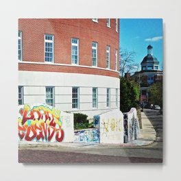 Ohio University Graffiti Wall (04.22.13) Metal Print
