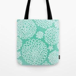 Peppermint Dandelions Tote Bag