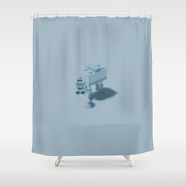 Hoth Shower Curtain