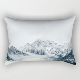 Canadian Rockies - mountain photo, rocky mountains, fine art print Rectangular Pillow