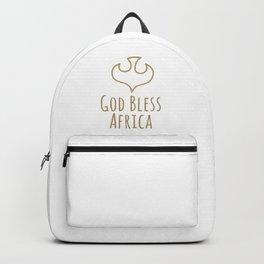 God Bless Africa Backpack