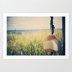 The Buoy Art Print