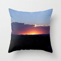 NM Sunset 7 Throw Pillow