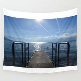 Dock to Heaven Wall Tapestry