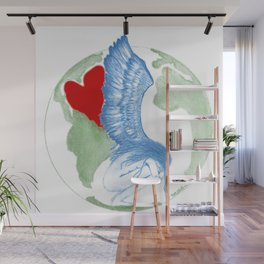 Earth Angel- Love Unearthed Wall Mural