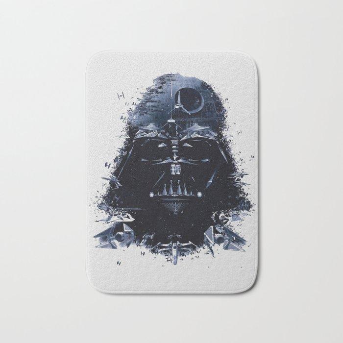 Darth Vader - Death Star - Tie Fighter - Starship Mashup Bath Mat