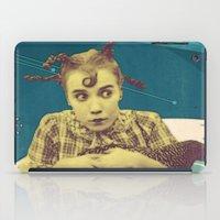 chicken iPad Cases featuring Chicken by Julia Lillard Art