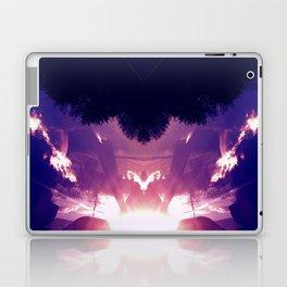 Neon Pyramid Laptop & iPad Skin
