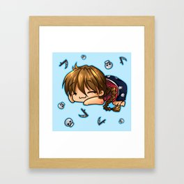 Sleepytime Duo  Framed Art Print