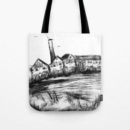 Seek a stinging Tote Bag