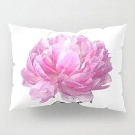Pink peony illustration Pillow Sham