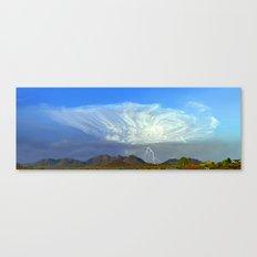 Monsoon Sky Panorama Canvas Print