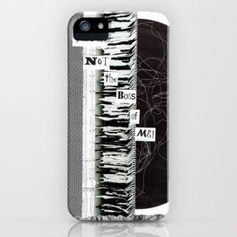 Collage - You're Not the Boss of Me iPhone Case
