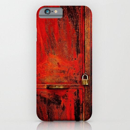 Red Door iPhone & iPod Case