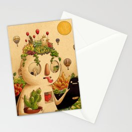 Succulent Man Stationery Cards