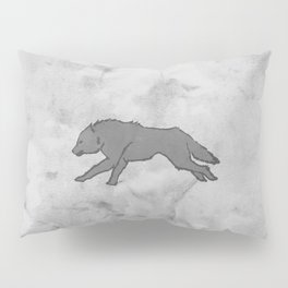 Wolf Banner Pillow Sham