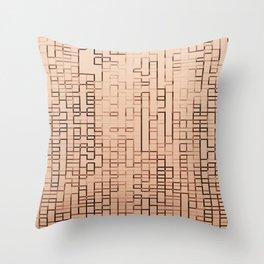 GLITCH 3 Throw Pillow